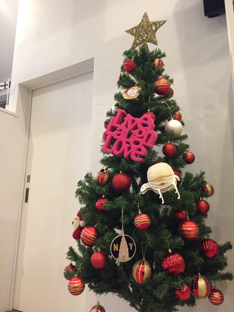 ☆クリスマスツリーを飾りました☆