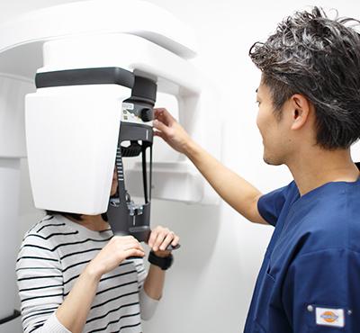 デジタルレントゲン、歯科用CT